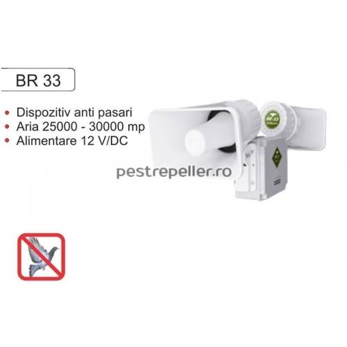 Aparat anti pasari electronic cu sunete BR33 Profesional