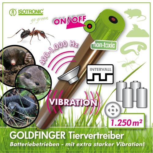 Aparat anti daunatori cu vibratii GoldFinger 70048