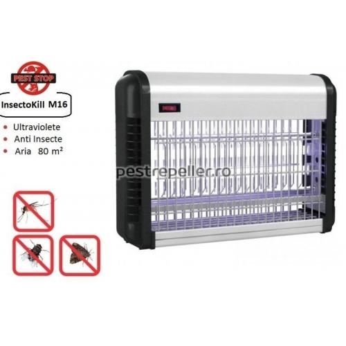 Aparat cu ultraviolete anti insecte InsectoKILL M16