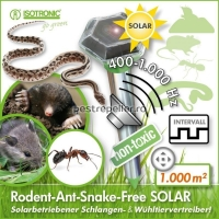 Aparat Solar cu ultrasunete si vibratii anti daunatori Solar Diamond Plus 70045