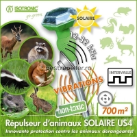Dispozitiv solar anti daunatori Animal Repeller 60020