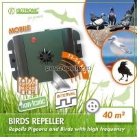 Aparat anti-pasari cu ultrasunete portabil 70628